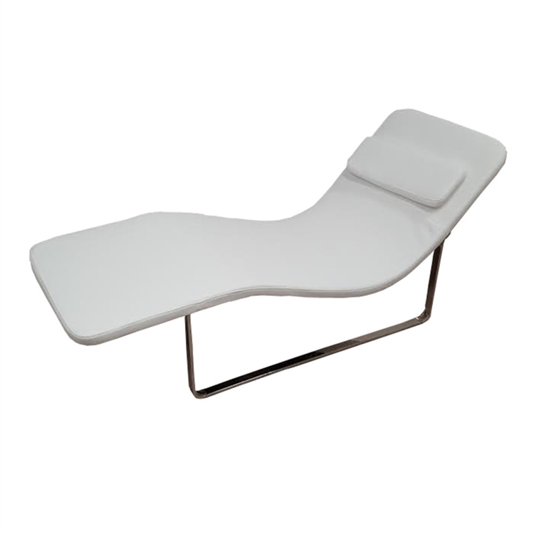 White Orbit lounge chair