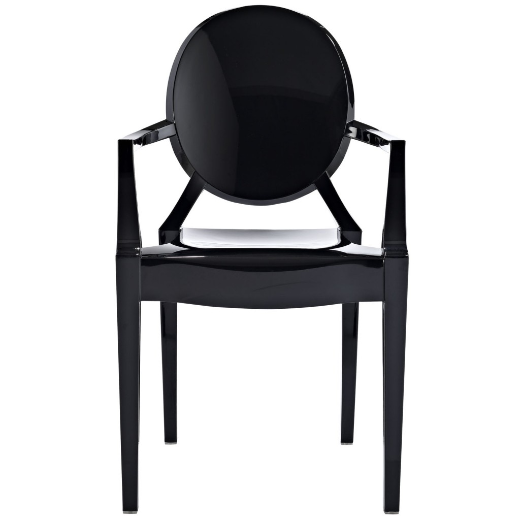 Black Throne Chair 2