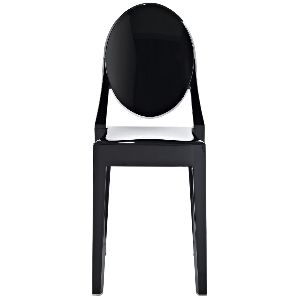 Black Throne Side Chair 2