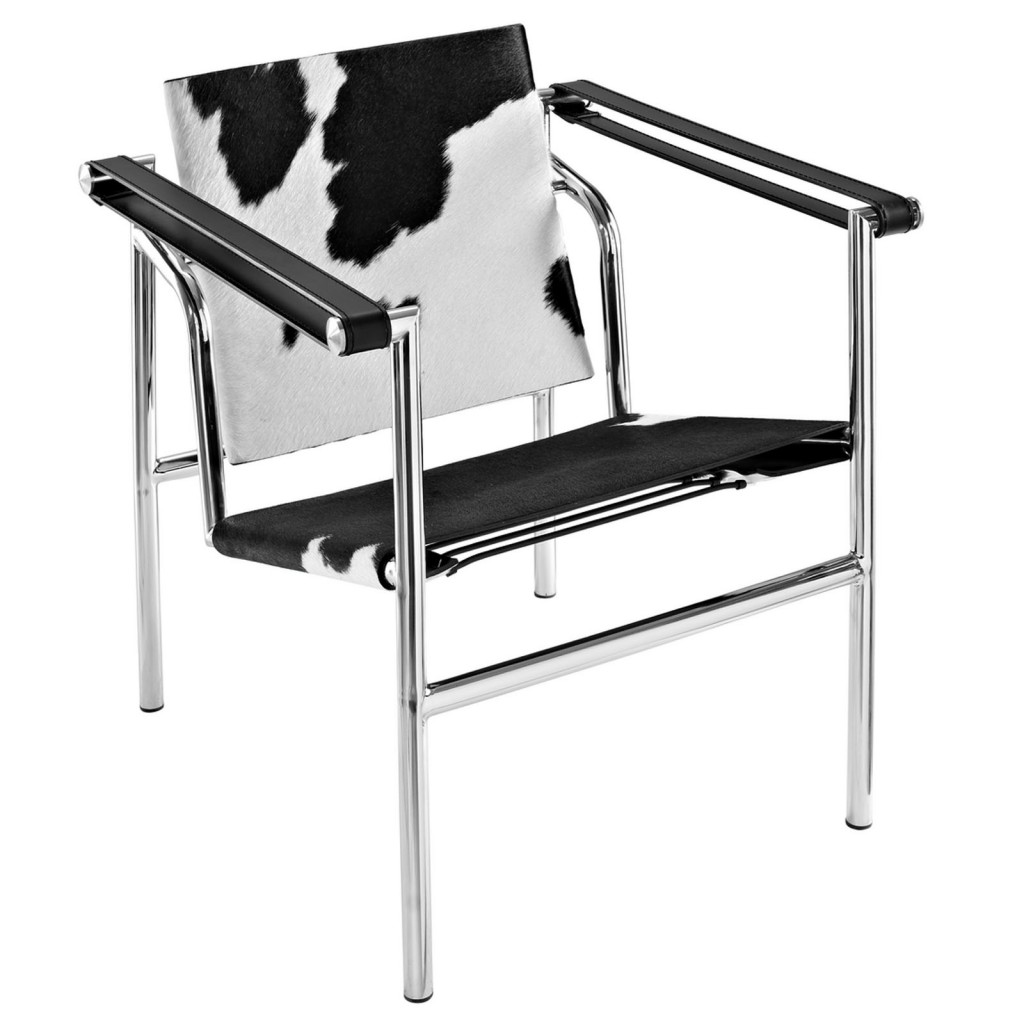 BlackandWhite Attache Chair 1