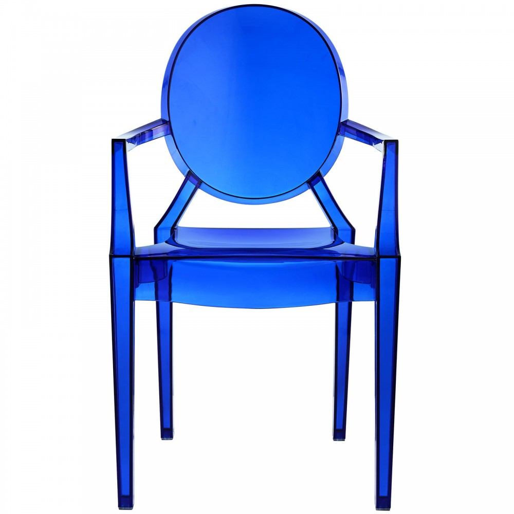 Blue Transparent Throne Chair 2 1000x1000