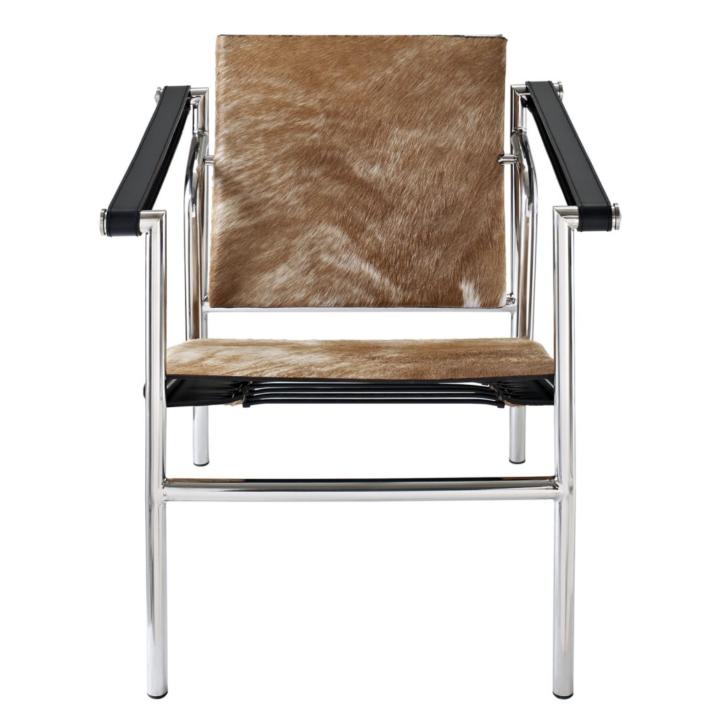 BrownandWhite Attache Chair