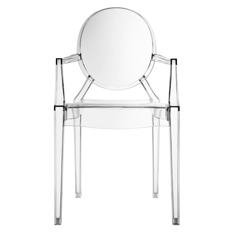 Clear Throne Chair