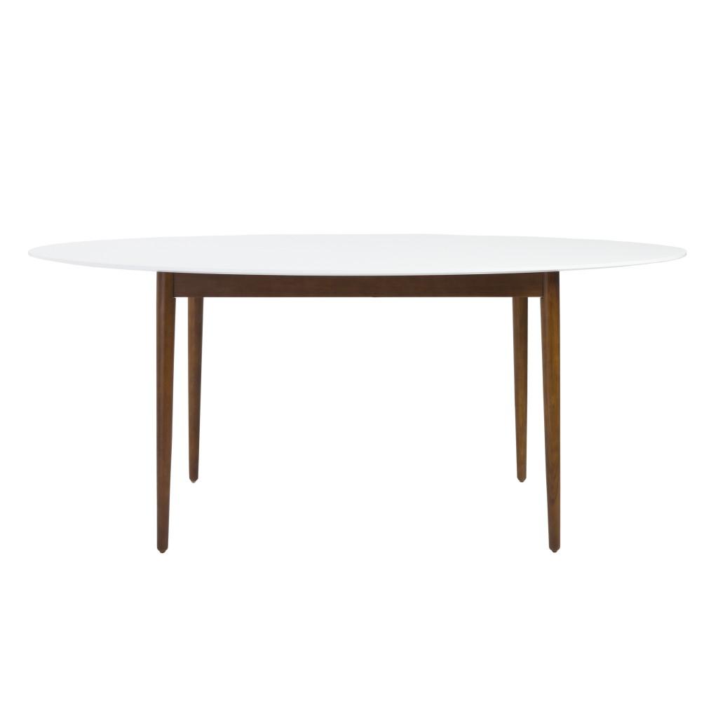 Era Mid Century Oval Dining Table
