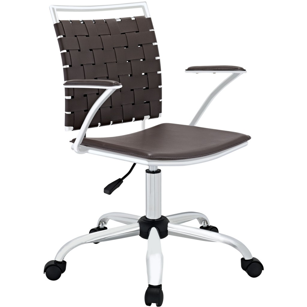 Espresso Area Office Chair