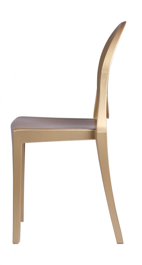 Gold Side Chair 3