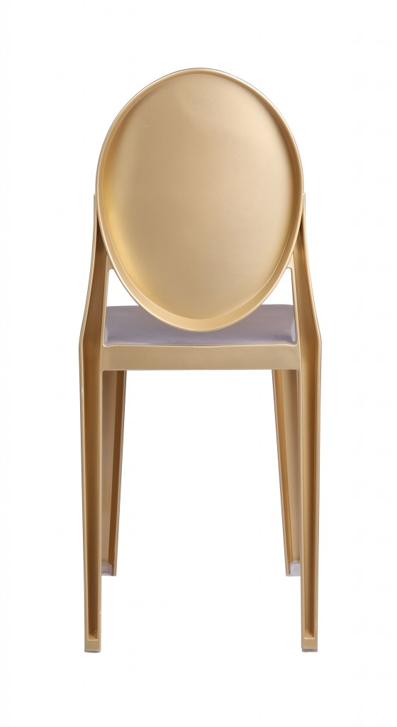Gold Side Chair 4