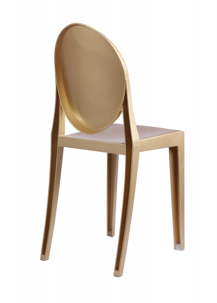 Gold Side Chair 5