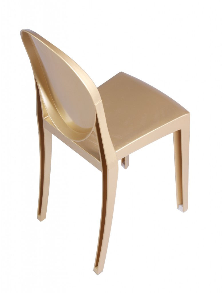 Gold Side Chair 6