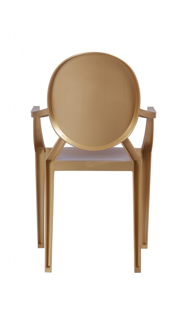 Gold Throne Armchair 5