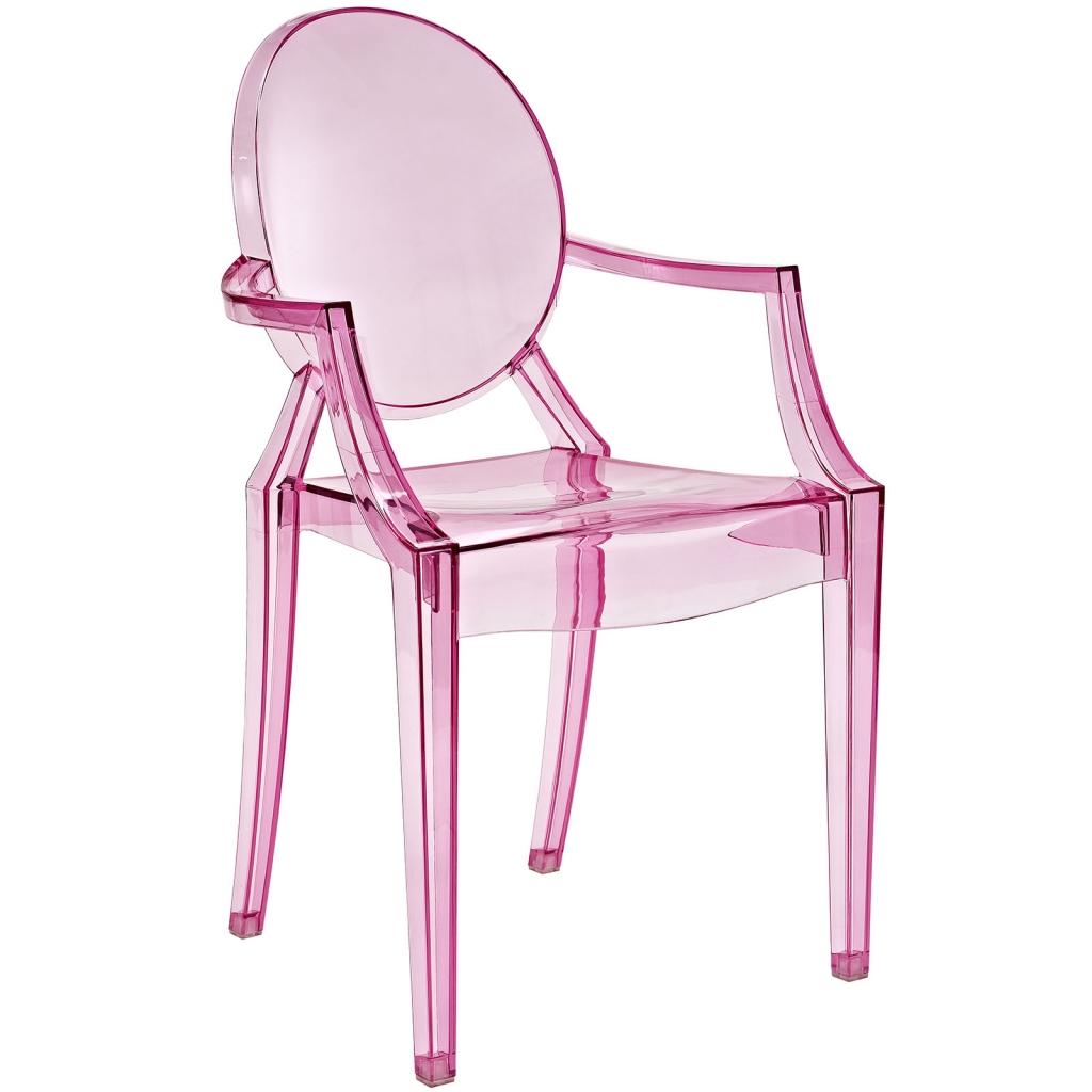 Pink Throne Chair