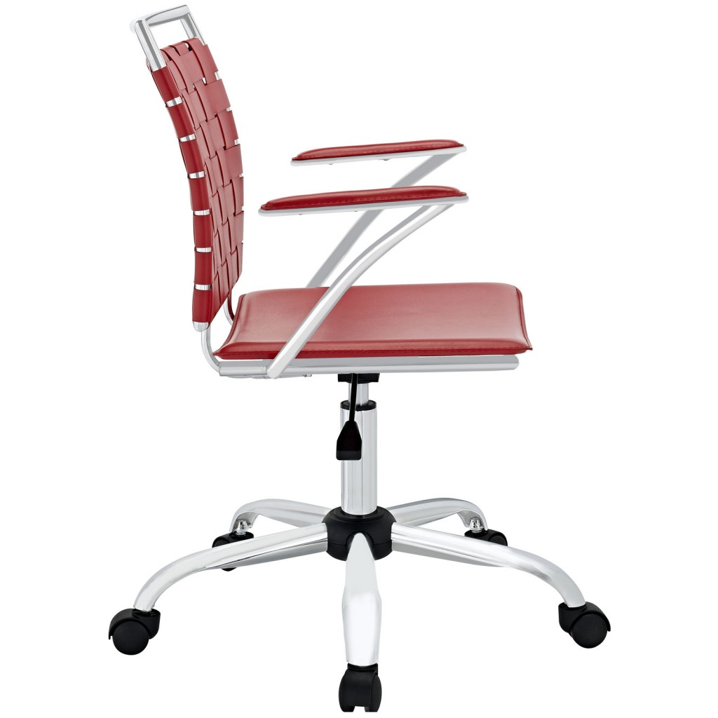 Red Area Office Chair 1