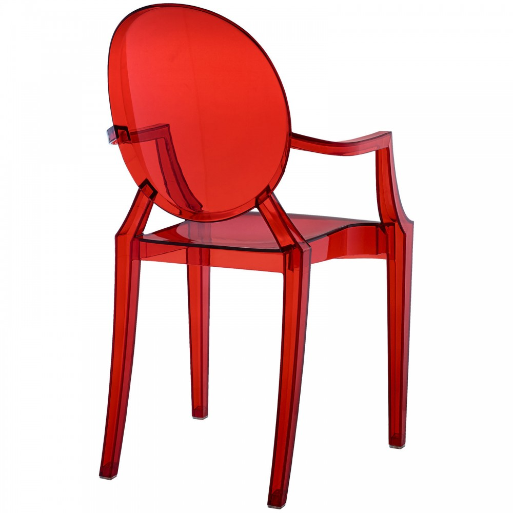 Red Transparent Throne Chair 4 1000x1000