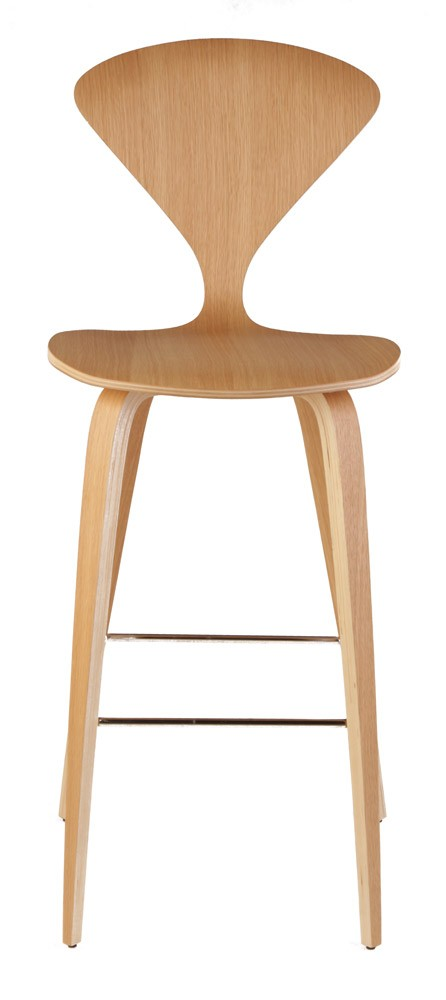 Spider Bar Stool Natural Wood 2