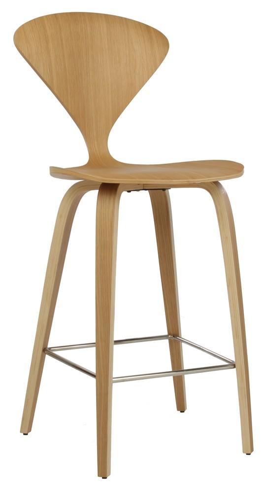 Spider Bar Stool Natural Wood