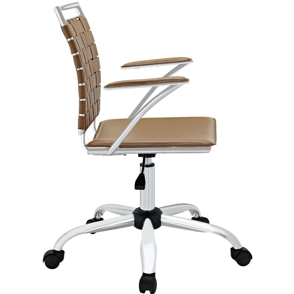 Tan Area Office Chair 2