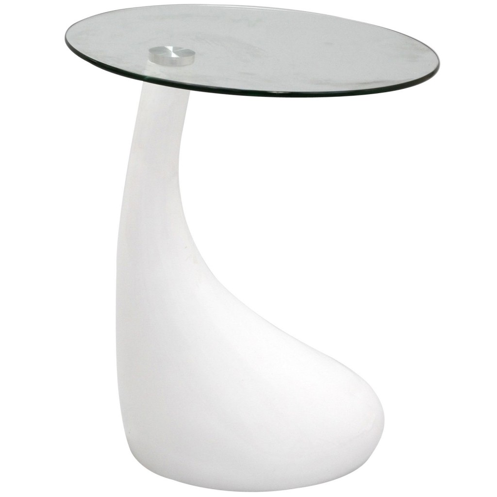 White Droplet Side table