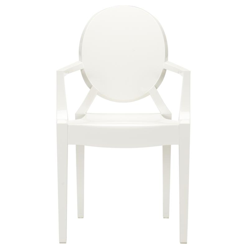 White Throne Chair 1