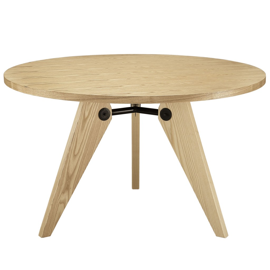 Grove Natural Wood Round Dining Table 2