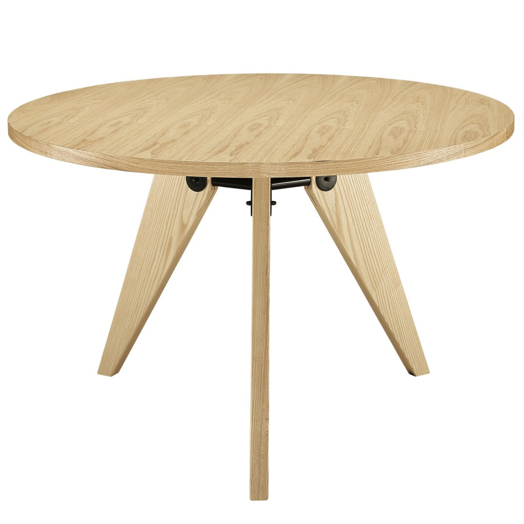 Grove Natural Wood Round Dining Table