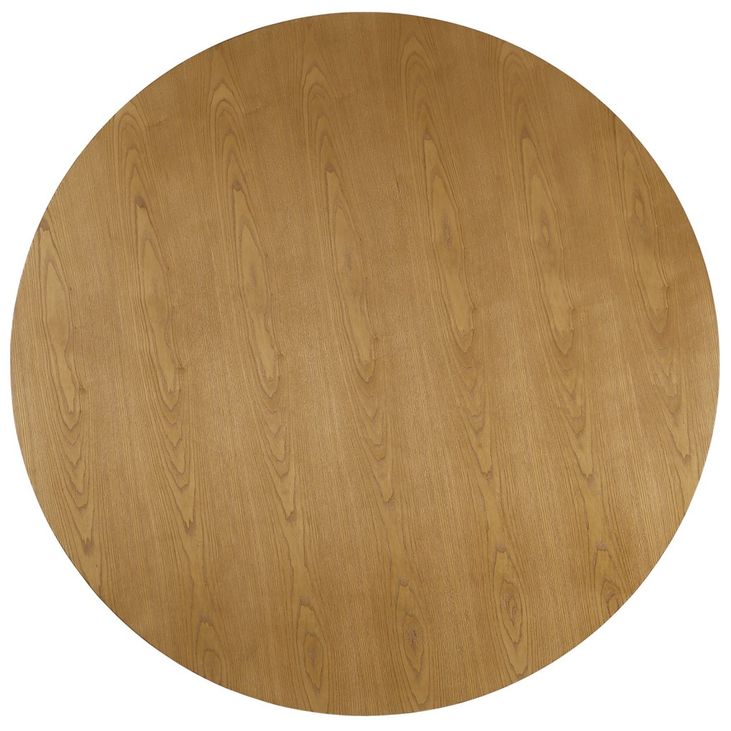 Grove Walnut Wood Round Dining Table 2