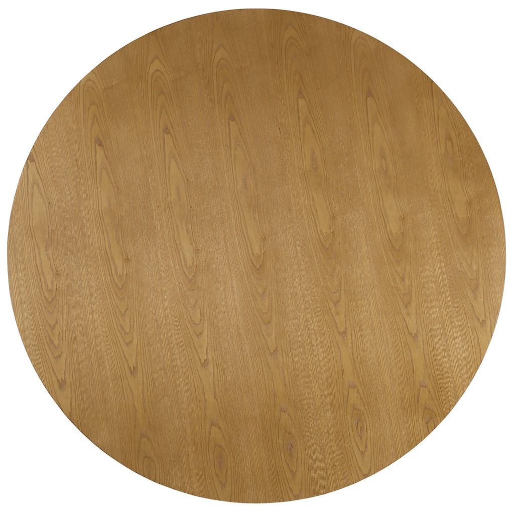 Grove Walnut Wood Round Dining Table 2