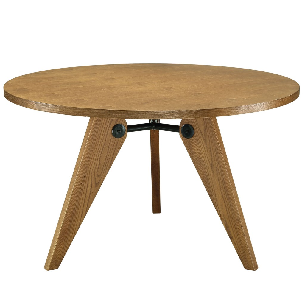Grove Walnut Wood Round Dining Table1