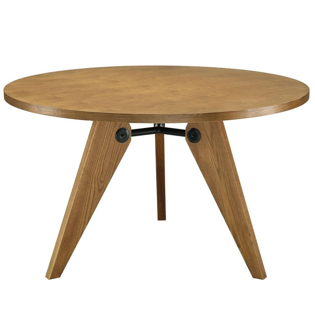 Grove Walnut Wood Round Dining Table1