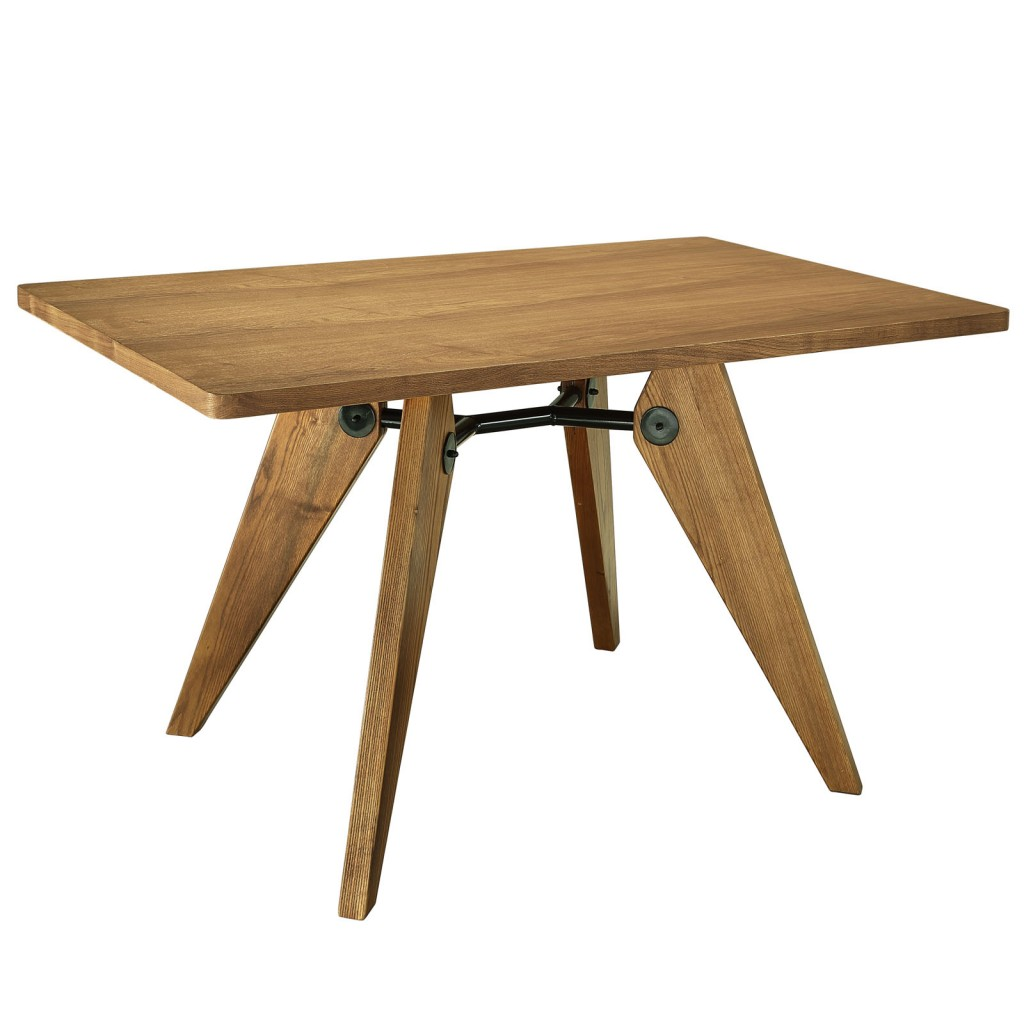 Grove Walnut Wood Square Dining Table 2