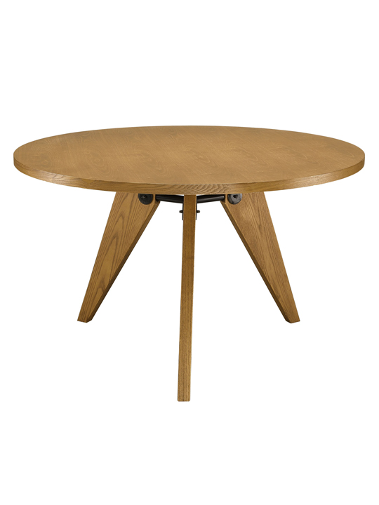 Walnut Grove Wood Round Dining Table