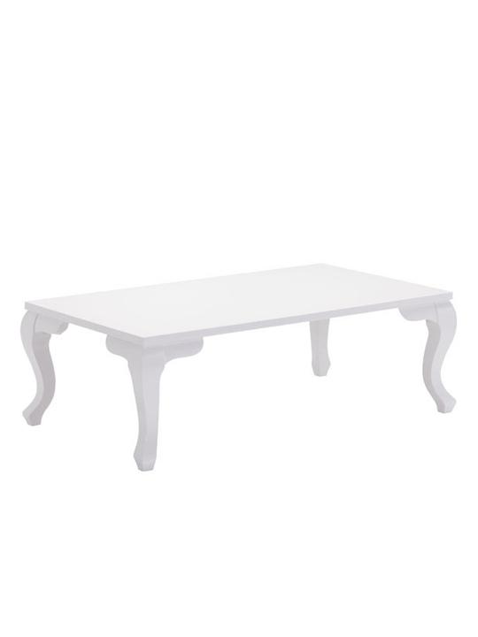 White Essence Rectangular Coffee Table