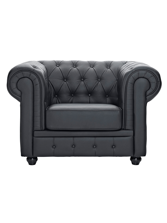 Black Grand Armchair