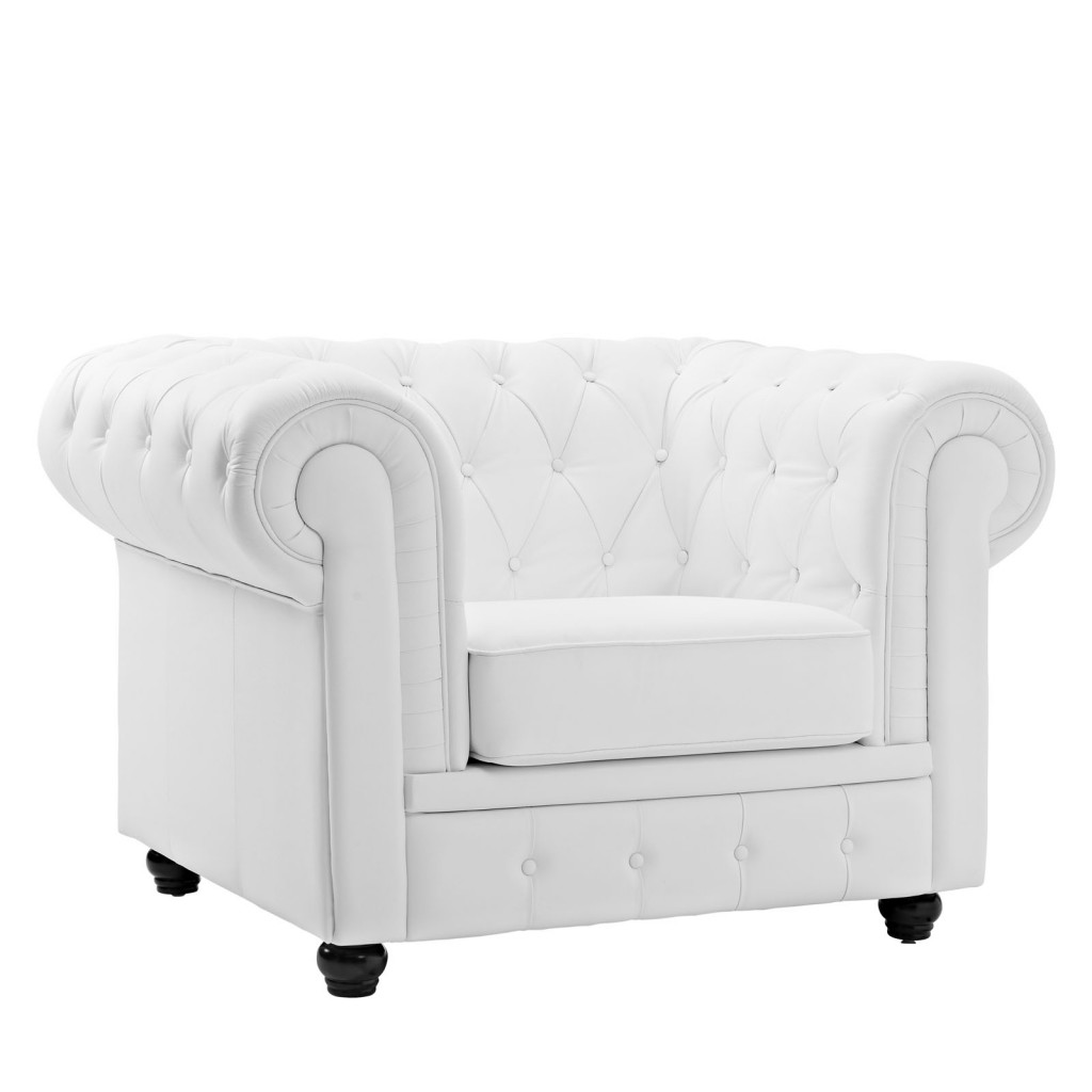 Grand Armchair White 1