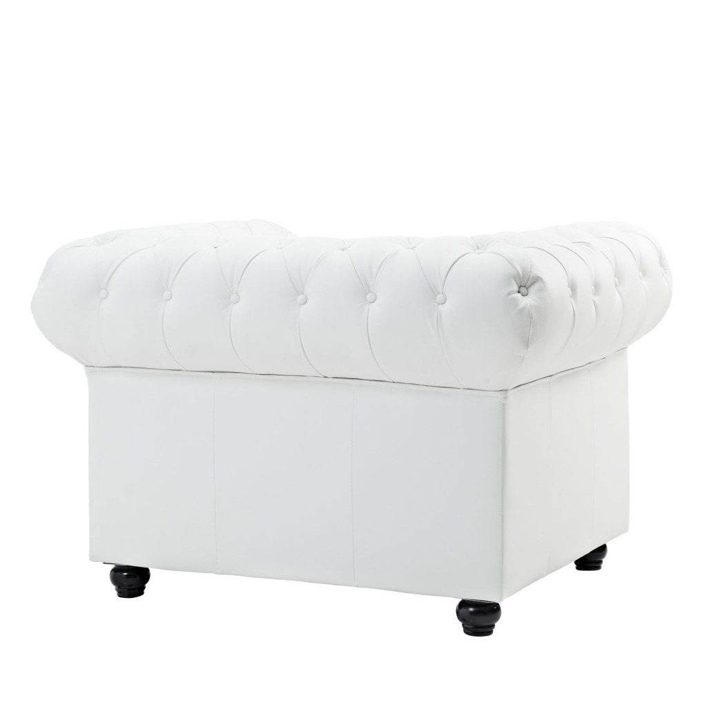 Grand Armchair White 2