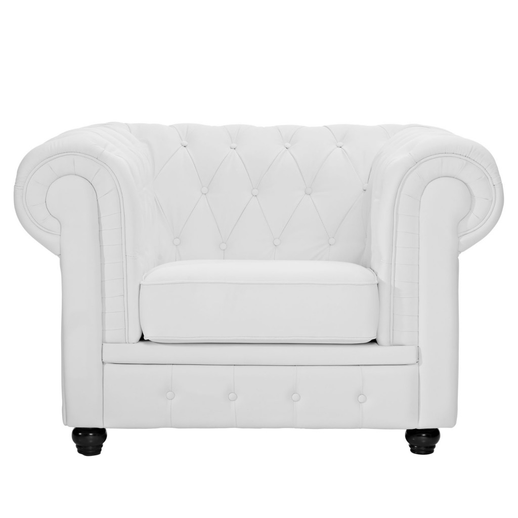 Grand Armchair White