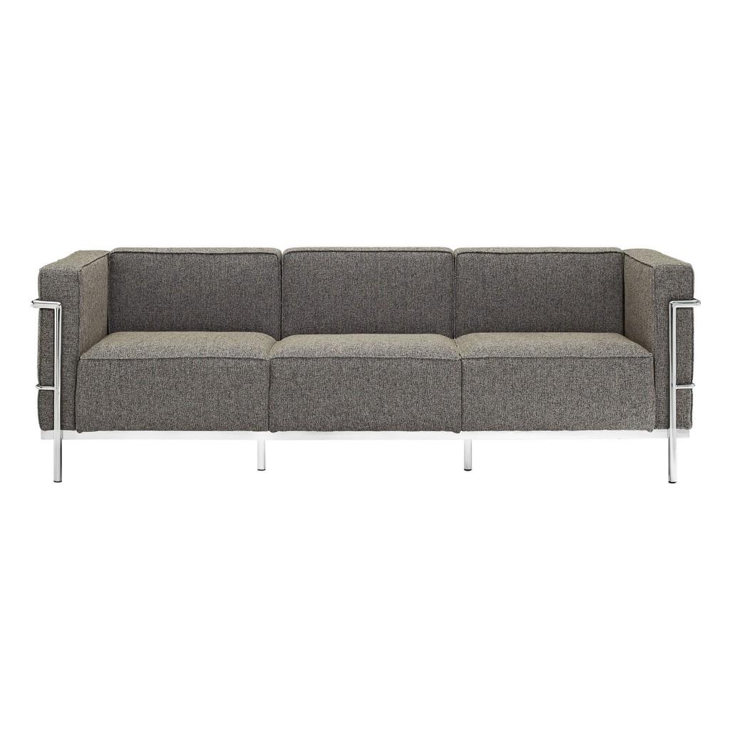 Simple Large Wool Sofa Oatmeal 1