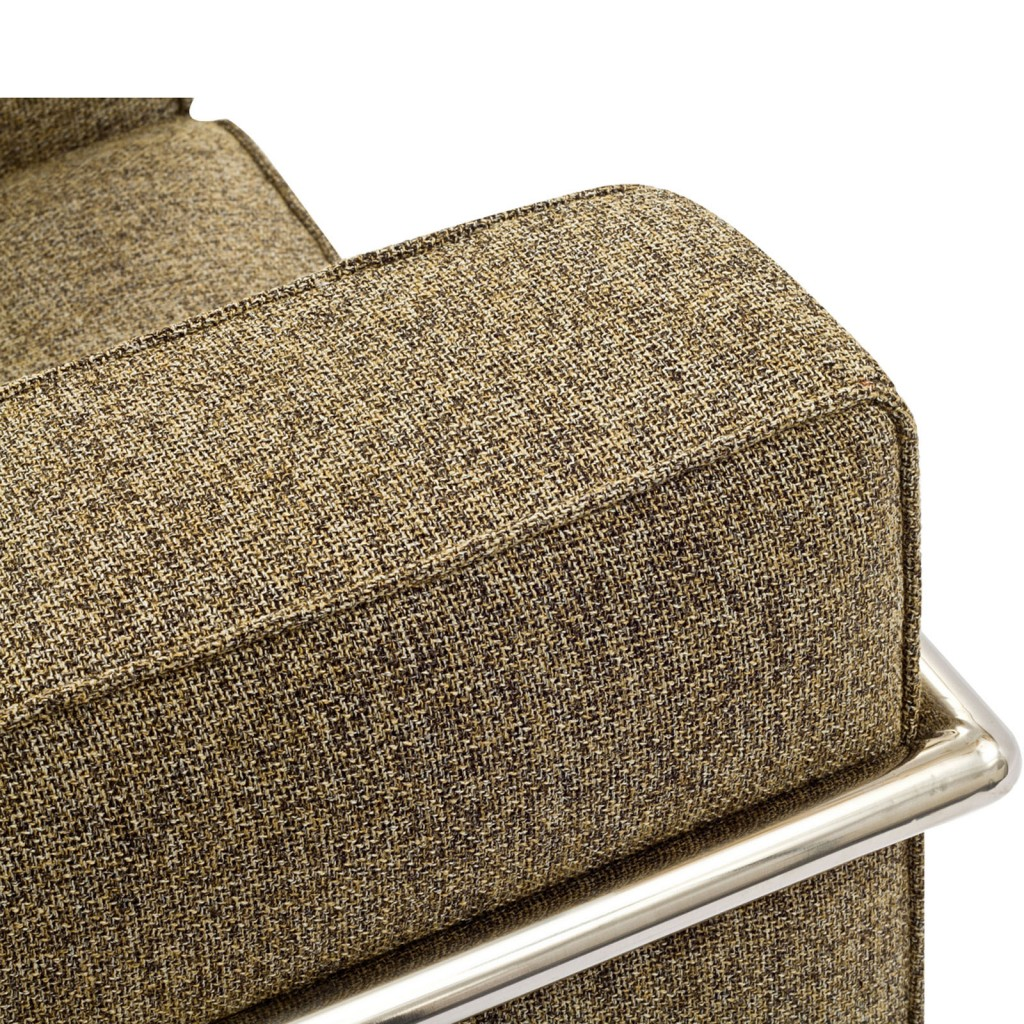 Simple Medium Wool Armchair Oatmeal 4