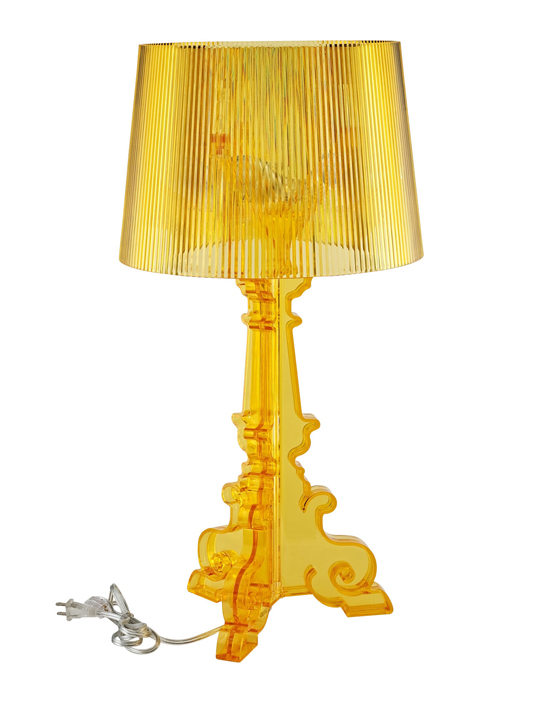Yellow Transparent Acrylic Lamp