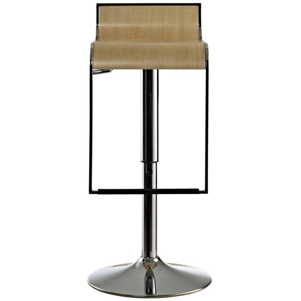 Hydroglide Natural Wood Barstool 2