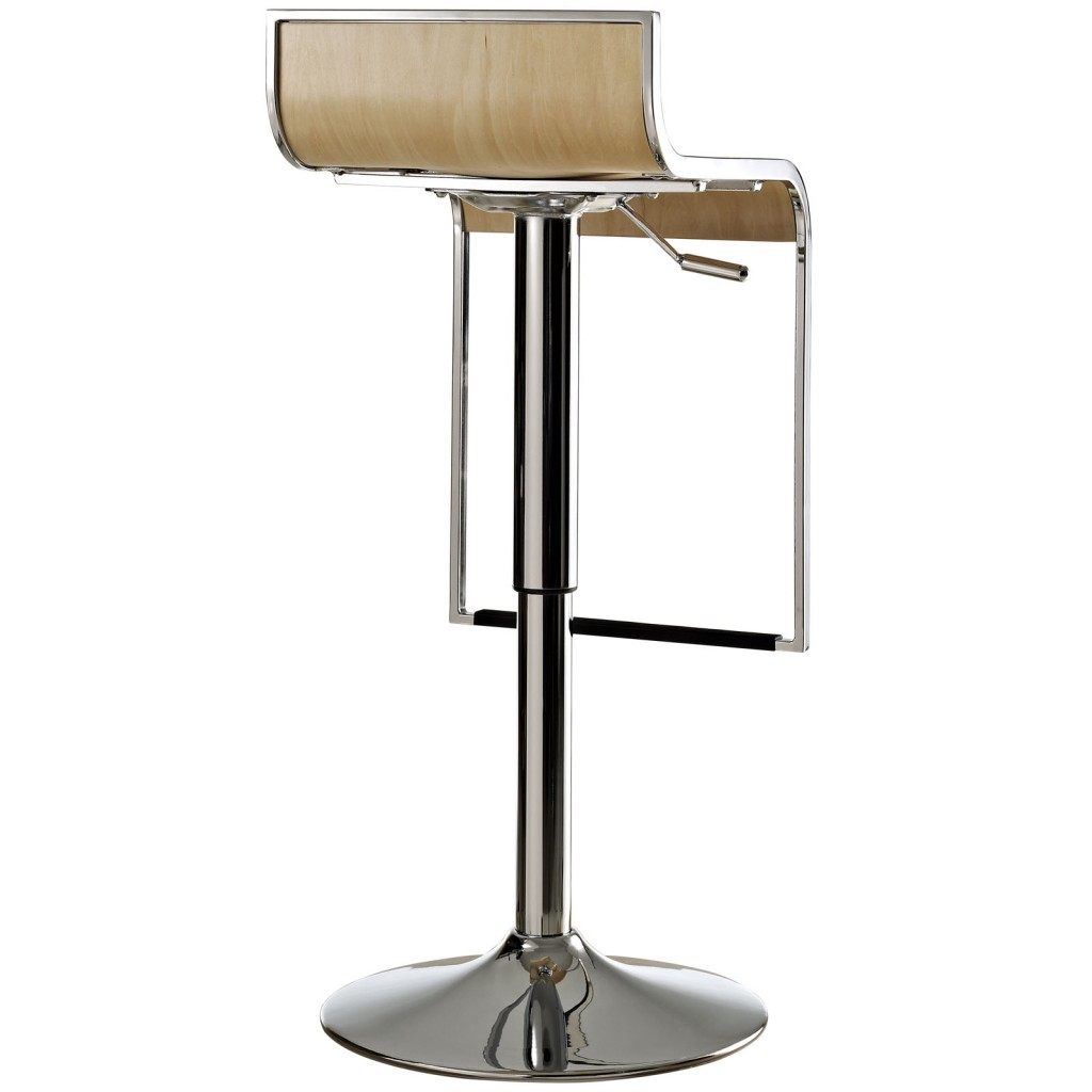 Hydroglide Natural Wood Barstool 3
