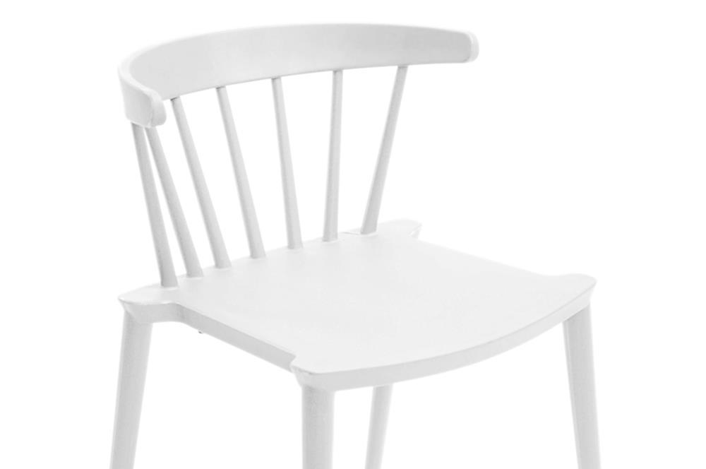 White Doral Chair 3