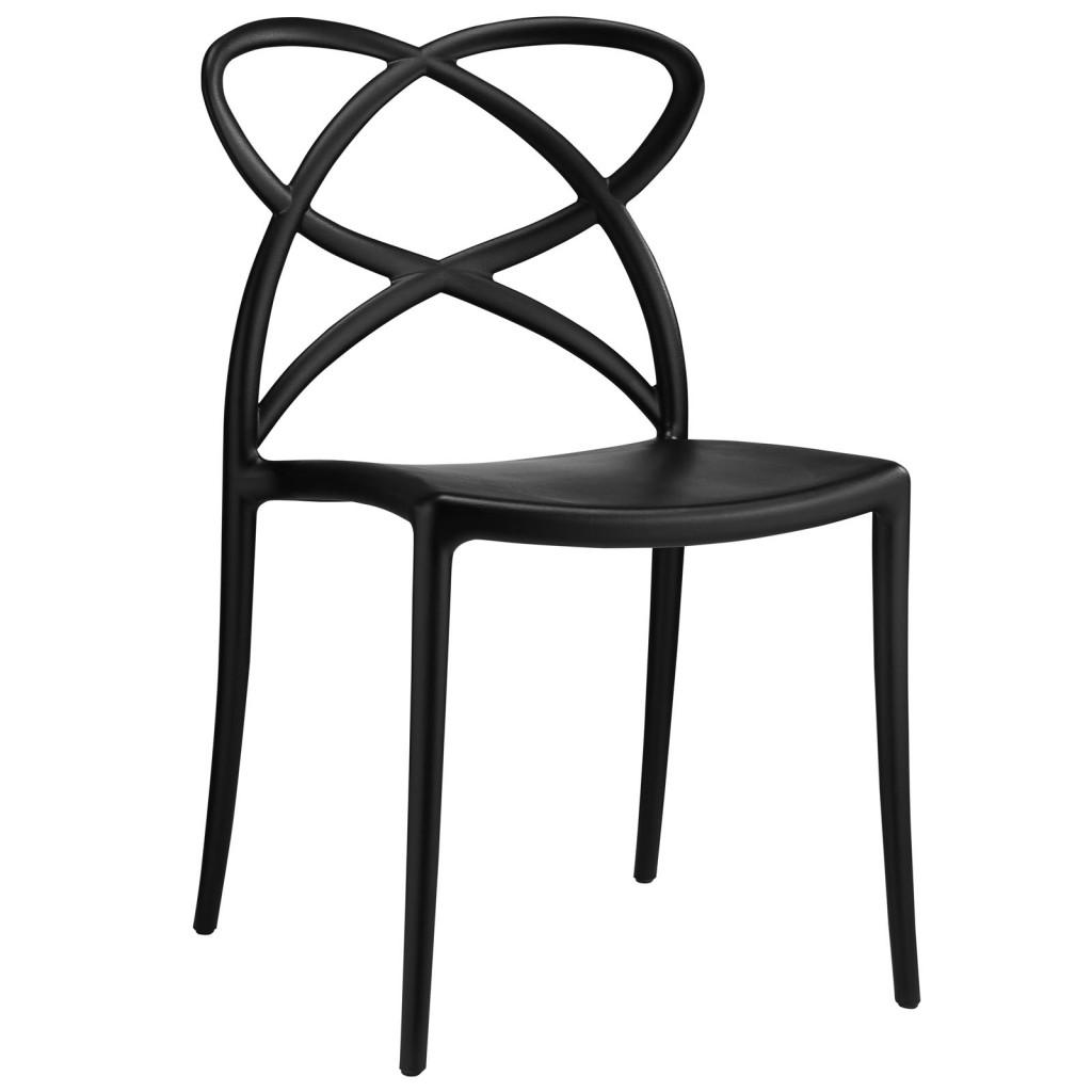 Black Atom Chair