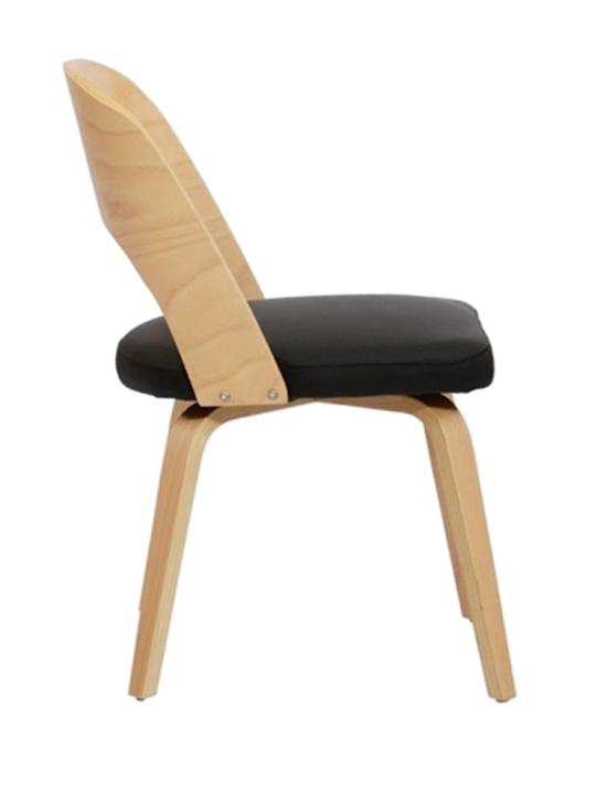 Black Construct Chair