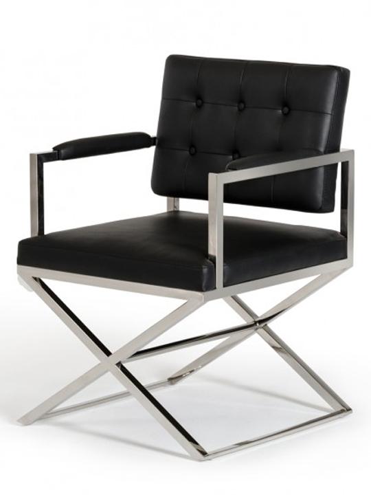 Black Glam Chair