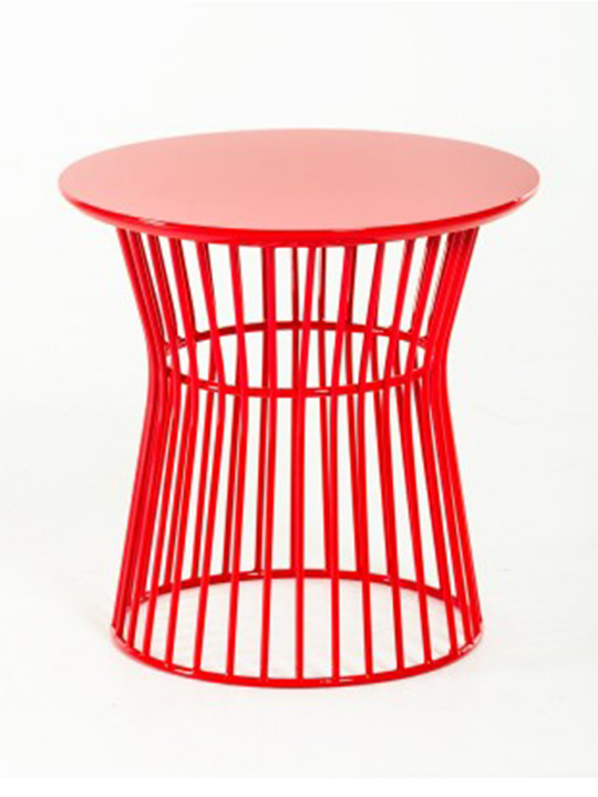 Demi Circle Side Table