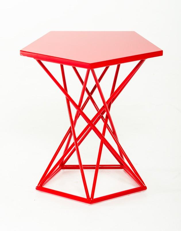 wholesale dealer 47af3 d45b3 Demi Geometric Side Table