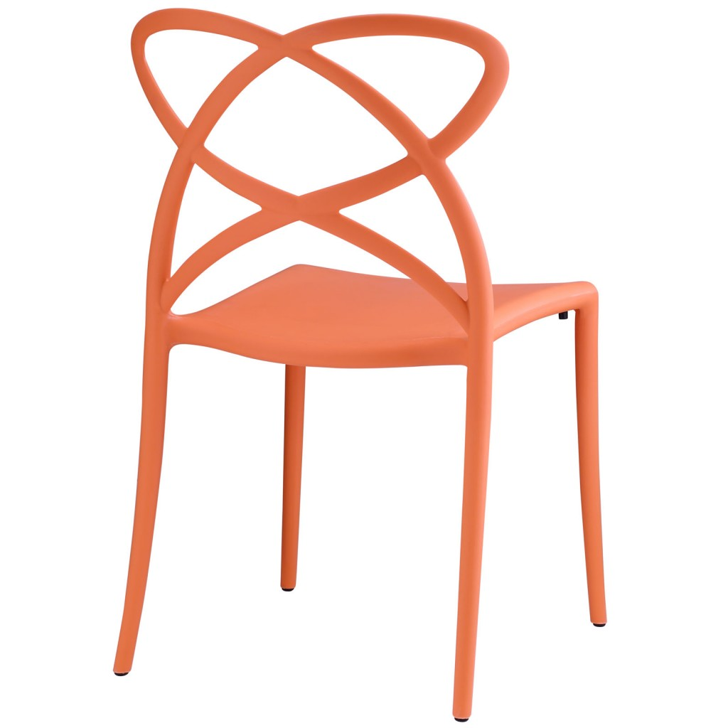 Orange Atom Chair 3