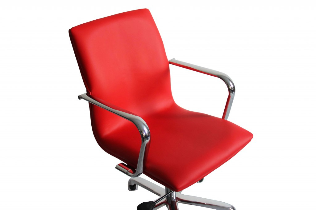 Profile Office Chair Red 3