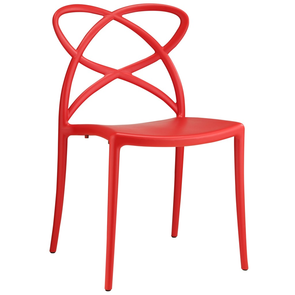 Red Atom Chair