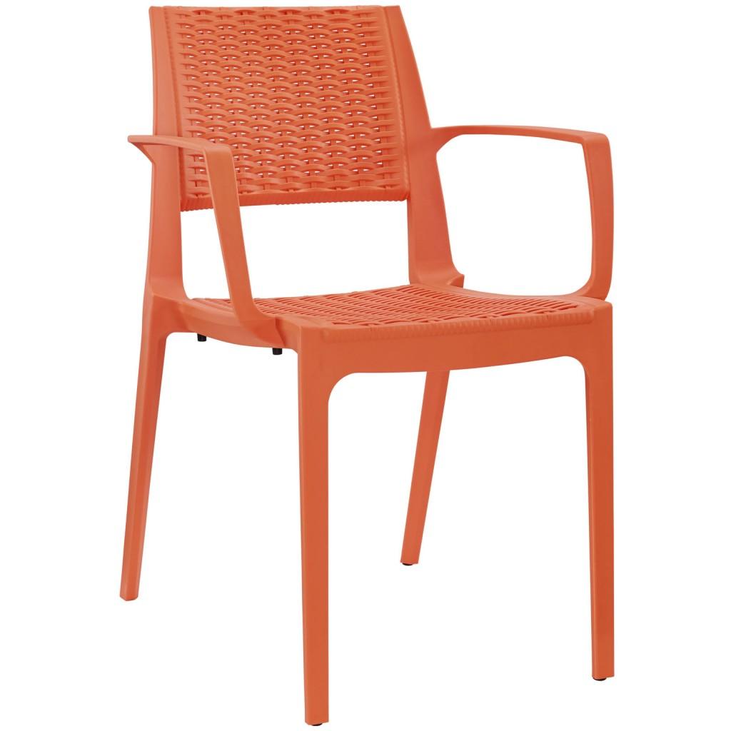 Tibi Armchair Orange 3